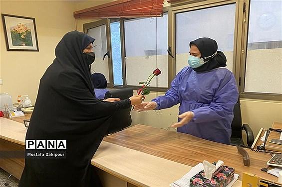 تقدیر از مدافعان سلامت مرکز آموزشی درمانی شهدای خلیج فارس