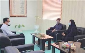 نشستاعضای هیئت رئیسه مجلس دانشآموزی استان بوشهر با رییس آموزش و پرورش شهرستان دیر