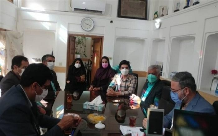 برگزاری نشست هماهنگی پویش ملی «به رنگ مدرسه» در یزد