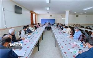 تشریح بازمهندسی جدید تشکیلات در جلسه رییس سازمان دانشآموزی استان یزد با معاونین پرورشی