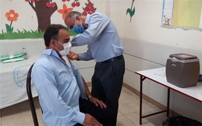 ۴۴ درصد فرهنگیان سیستان و بلوچستان دز دوم واکسن را دریافت کردند