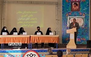 نشست نمایندگان مجلس دانشآموزی ابرکوه با نماینده مردم ابرکوه در مجلس