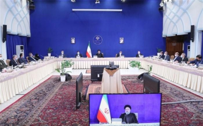 رییس جمهور در جلسه هیات دولت