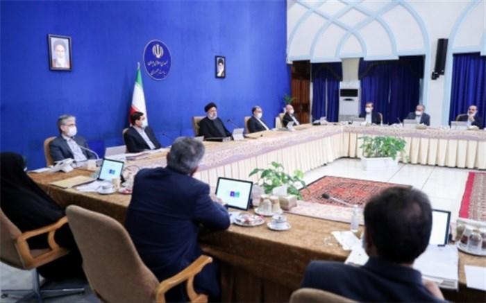 در جلسه یکشنبه دولت