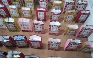 بستههای نوشت افزار ایرانی به ۱۳۰ دانشآموز نیازمند بهاباد اهدا شد