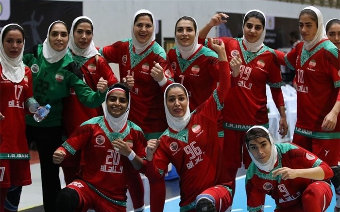 تیم ملی هندبال زنان ایران
