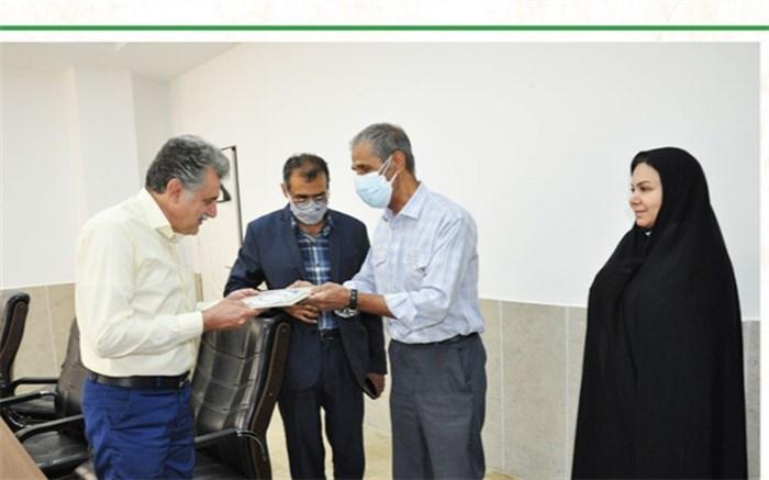 تجلیل از مسئول امور ایثارگران کانون البرز