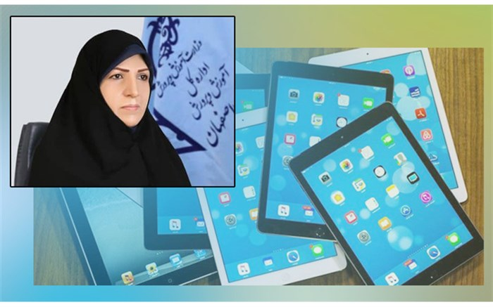 اهداء 60 دستگاه تبلت به دانش آموزان طرح شاهد