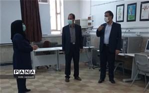 بازدید از روند آمادگی هنرستانها در پروژه مهر 1400