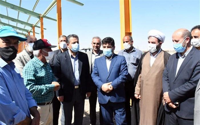 ساخت بزرگترین گاوداری شیری آذربایجان شرقی در مهربان
