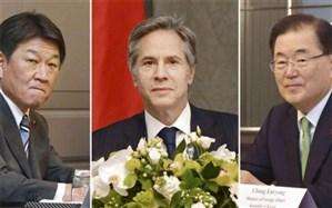 توافق آمریکا، کرهجنوبی و ژاپن برای خلع سلاح هستهای کره شمالی