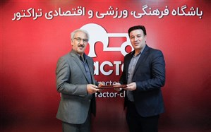مدیر جدید تراکتور تبریز معرفی شد