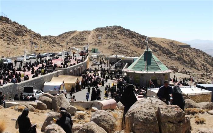 مراسم پیاده روی جاماندگان اربعین حسینی امروز در زنجان برگزار شد