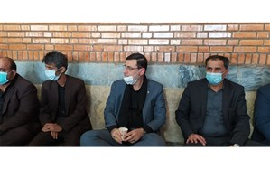 حضور رییس بنیاد شهید کشور در مجلس یادبودعلی لندی افتخار