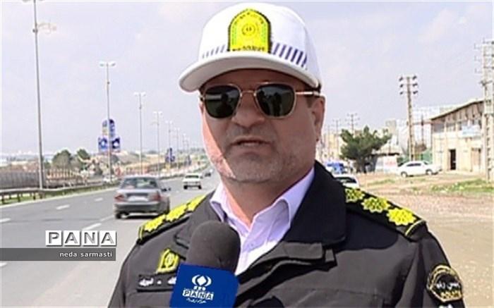 آمادگی پلیس راهور برای کنترل مسیر بازگشت زائران حسینی
