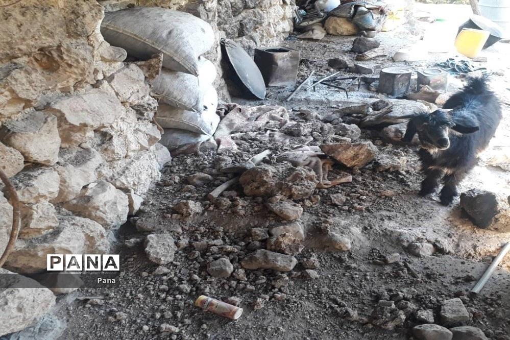 خسارات زلزله در شهرستان کوهرنگ