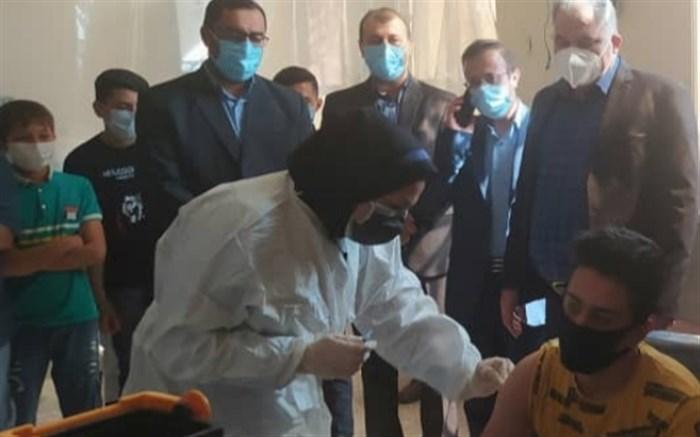 واکسیناسیون دانش آموزان کارونی آغاز شد