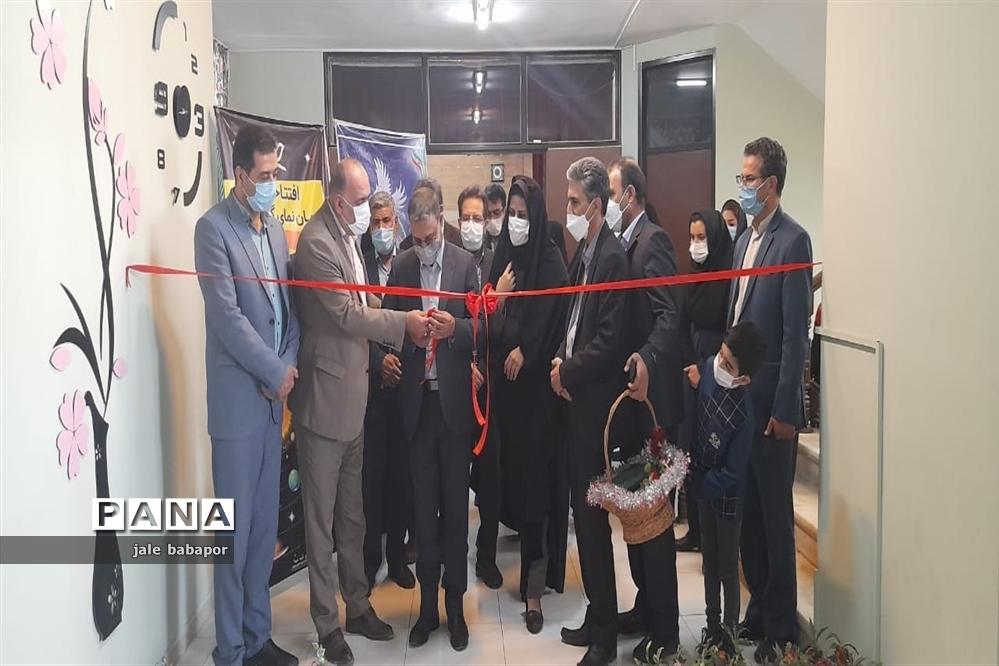 برگزاری مراسم افتتاحیه آسمان نما کانون فرهنگی همدانیان اداره آموزش و پرورش ناحیه 3