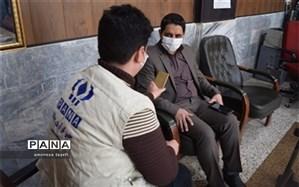 مرحله دوم واکسیناسیون  فرهنگیان چناران برگزار شد