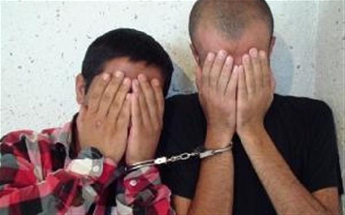دستگیری سارقان حرفهای سیم و کابل مخابراتی در کازرون