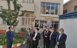 بازدید فرماندار شهرستان اردبیل از دبیرستان عارف