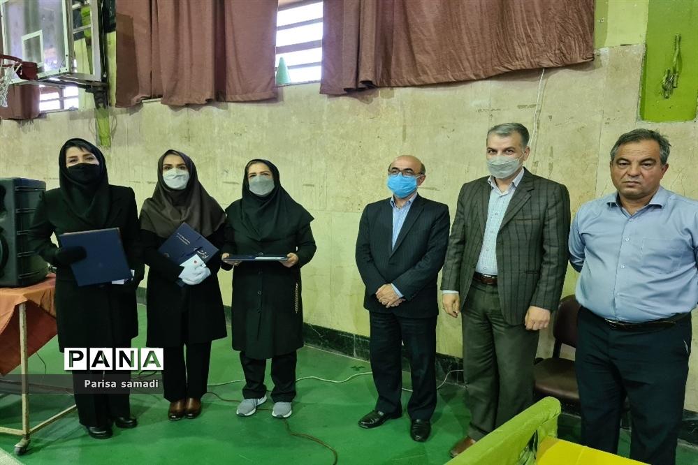مراسم افتتاحیه فعالیتهای ورزشی منطقه ۱۳ بهمناسبت بزرگداشت هفته تربیتبدنی