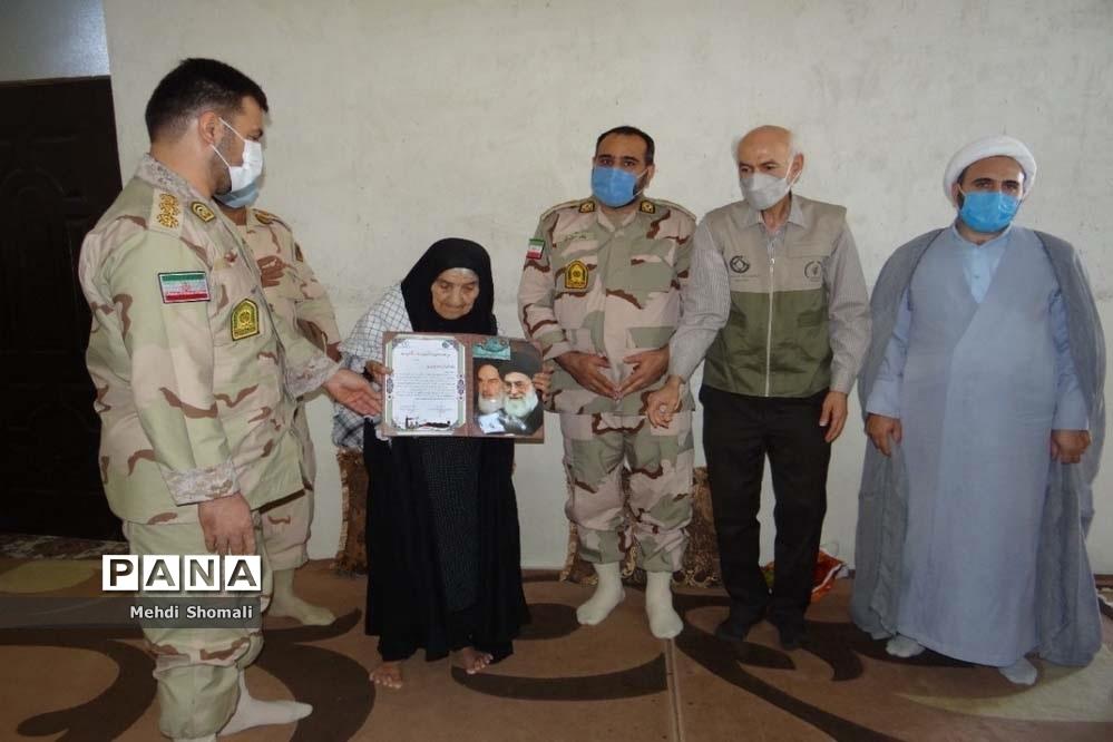 اردوی جهادی مشترک در روستای بن بید استان بوشهر
