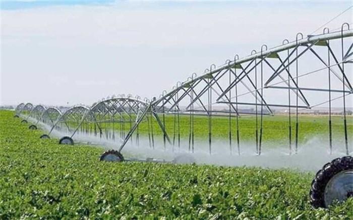 اجرای سیستم آبیاری نوین در ۸۱۲۳ هکتار از اراضی آذربایجانشرقی