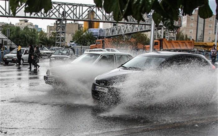 رکوردشکنی گلوگاه در بارشهای پاییزی ۲۴ ساعت گذشته
