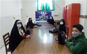 جلسه آموزشی، توجیهی خبرنگاران دانشآموزی پانا شهرستان اسلامشهر