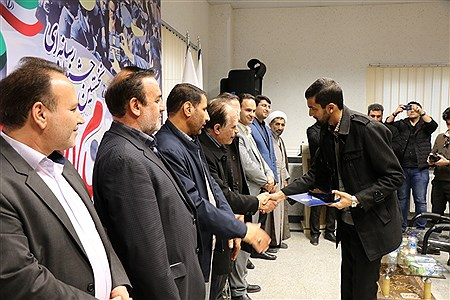 اختتامیه نخستین جشنواره رسانه ای پیام انقلاب  | Amir Hossein Mollazadeh