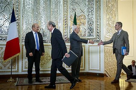 دیدار وزیر امور خارجه فرانسه با ظریف | Ali Sharifzade