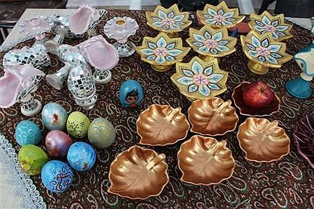 دومین بازارچه خیریه نوروز و لبخند در شهرستان بیرجند | Fatemeh Tahan