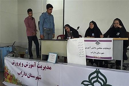 انتخابات اعضای شورای دانش آموزی در داراب    Ali Jokar