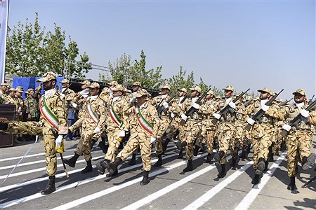 رژه نیروهای مسلح در استان البرز   Amir Hossein khademi