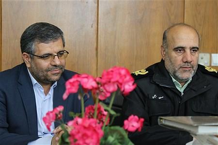 دیدار سردار رحیمی با معلمان نمونه شهر تهران | Mohamad Sajad Ghadiry