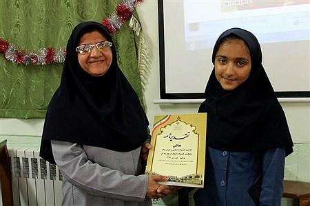 سپاس معلم در دبیرستان تزکیه شهرستان بیرجند   Mahdieh Bazdidi