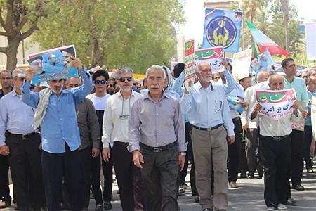 راهپیمایی  روز قدس  در بوشهر  | Mohsen Roshan