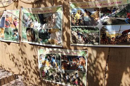 بازدید اعضای سازمان دانش آموزی  از اولین مدرسه طبیعت استان یزد | sa