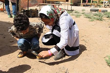 بازدید اعضای سازمان دانش آموزی  از اولین مدرسه طبیعت استان یزد | sajad jadidi