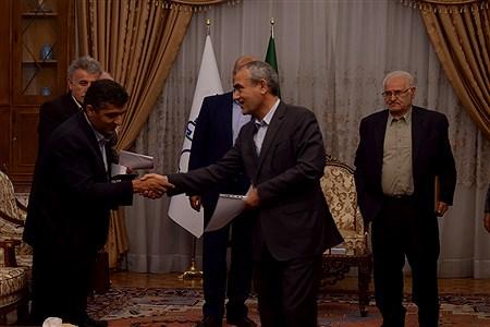 دیدار استاندار آذربایجان شرقی با نمایندگان تشکل های بخش کشاورزی | Morteza Farzi