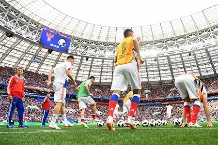 دیدار تیم های روسیه و عربستان  در افتتاح جام جهانی 2018روسیه | Getty Images