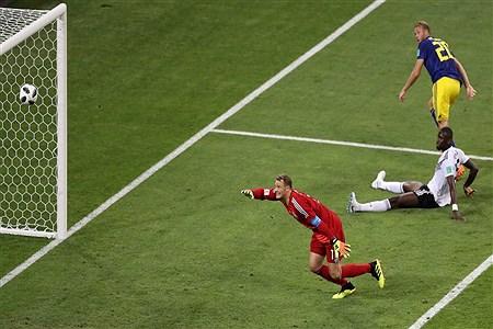 دیدار تیم های آلمان و سوئد   Getty Images
