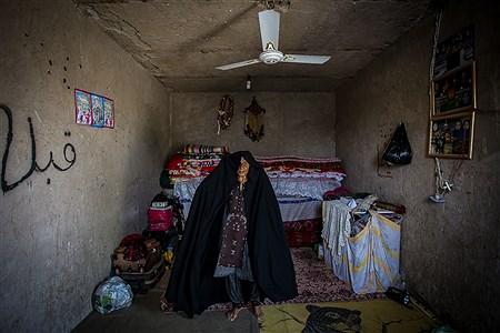 پیرزنی در روستای «اردوگاه»  | Ali Sharifzade