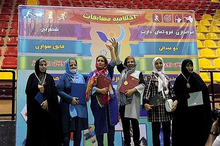 اختتامیه  پنجمین المپیاد ورزشی بازنشستگان شهرداری تهران | Bahman Sadeghi