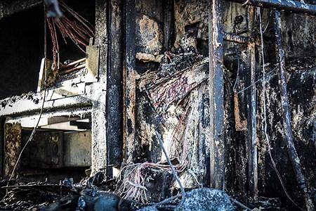 لاشه اتوبوس مسافربری و تانکر سوخت در اثر انفجار مهیب دیشب درسنندج | Iman Fatehi