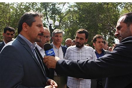 مراسم بزرگ بهره برداری از پارک قازان (باغ توت گلگشت) | MohammadAminGavidel