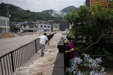 سیل در ژاپن  | Received