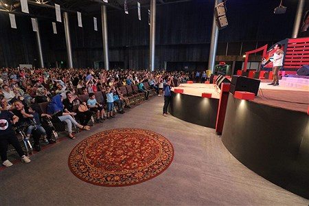 عمو پورنگ در بیست یکمین جشنواره تابستانی کیش | Amir Hossein Yeganeh