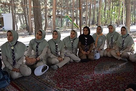 پیش اردو ملی  دختران پیشتاز مناطق شهرستان های استان تهران   Sara Vesagh